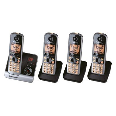 Panasonic KX-TG6724 Dect telefoon - Zwart