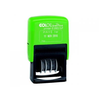 Colop stempel: Stempel Printer S260/L2 GL BETAALD