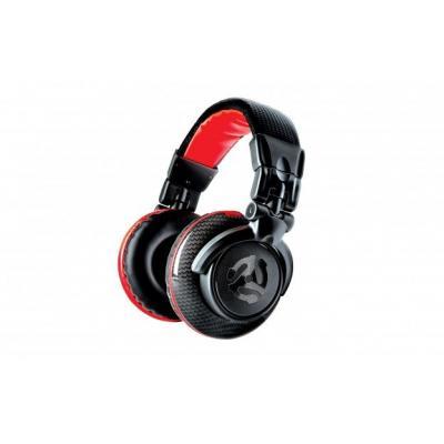 Numark koptelefoon: Red Wave Carbon - Zwart, Rood