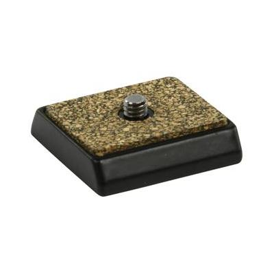 König statief accessoire: Kop plaat, zwart/khaki