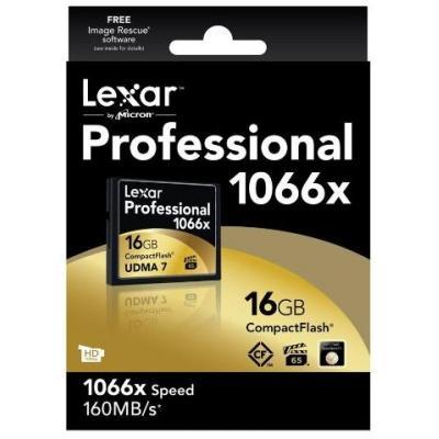 Lexar flashgeheugen: 16GB CF