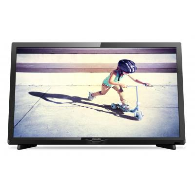 Philips led-tv: 4200 series Ultraslanke Full HD LED-TV 22PFS4232/12 - Zwart