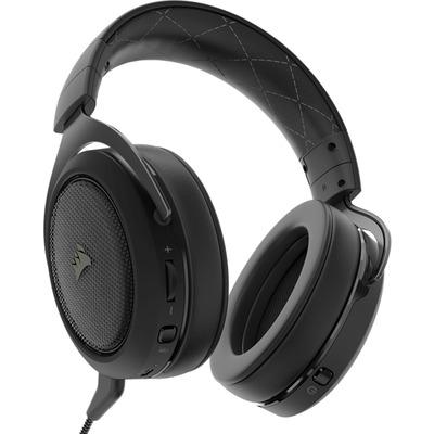 Corsair HS70 Headset - Zwart,Koolstof