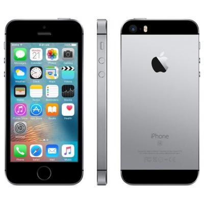 Apple iPhone SE 64GB Space Grey Smartphone - Zwart, Grijs - Refurbished B-Grade