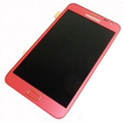 Samsung mobile phone spare part: GT-N7000 Galaxy Note, display + touchscreen, pink