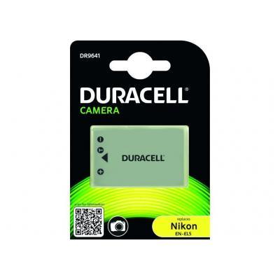 Duracell batterij: Camera Battery - replaces Nikon EN-EL5 Battery - Grijs