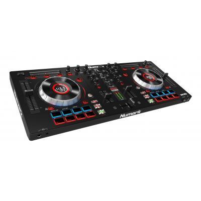 Numark DJ controller: 24-bit, 44.1k, 16 pads, RCA, 3.5 mm, 6.3 mm - Zwart