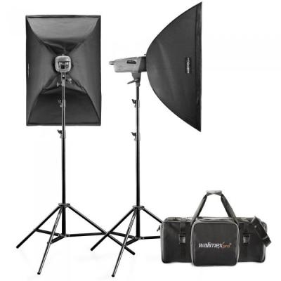 Walimex photo studio equipment set: Studio Set VE 3.3