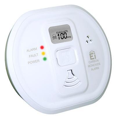 Ei electronics : Ei208DW Koolmonoxidemelder voor 10 jaar zorgeloze veiligheid, met display - Wit