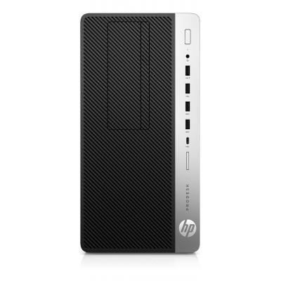 Hp pc: ProDesk 600 G3 - Zwart, Zilver