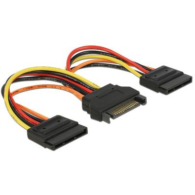DeLOCK 60143 - Zwart, Oranje, Rood, Geel