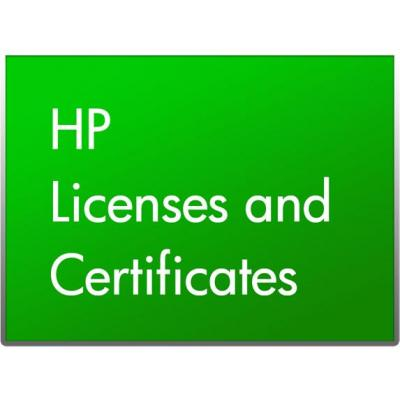 HP HZ833AAE software licentie