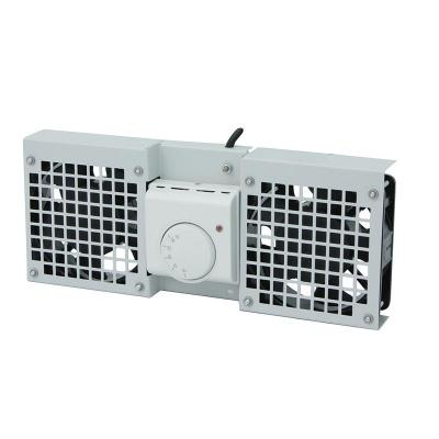 LogiLink Roof Fan Tray for Wall Mount Enclosure with 1 fan, grey Rack toebehoren - Grijs