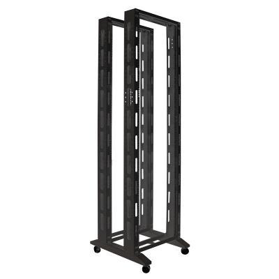 "LogiLink 48.26 cm (19"") open, 42U double frame, 600x700mm, black Rack - Zwart"