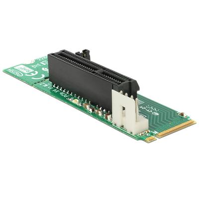 DeLOCK Adapter M.2 NGFF Key M male > PCI Express x4 Slot Interfaceadapter