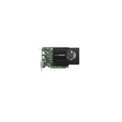 Lenovo NVIDIA Quadro K2200, DVI-I, 2x DisplayPort, 240 g videokaart - Zwart