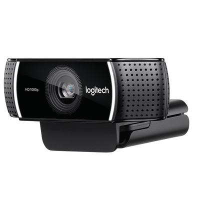 Logitech C922 Pro Stream Webcam - Zwart