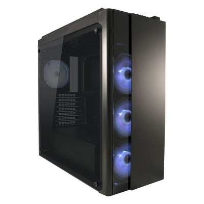 LC-Power Gaming 993B Behuizing - Zwart
