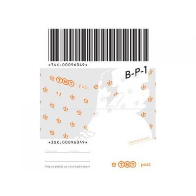 Postnl briefpapier: Pakketzegel basis NL to 10 kg/blok 5