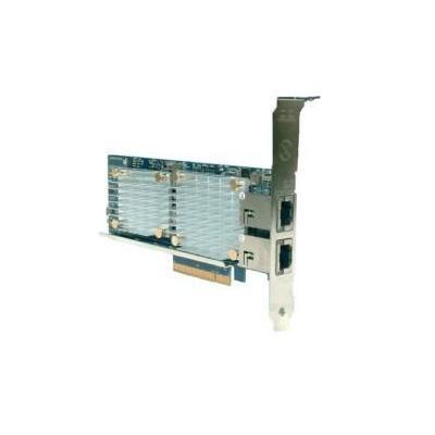 Lenovo netwerkkaart: Broadcom NetXtreme 2x10GbE BaseT Adapter - Groen, Zilver