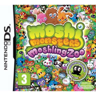 Activision game: Moshi Monsters Moshling Zoo, Nintendo DS