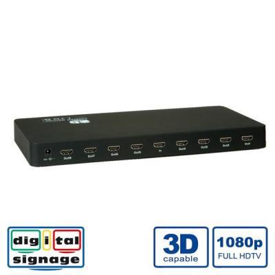 Value HDMI Splitter, 8-port