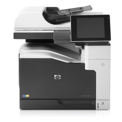 Hp multifunctional: LaserJet M775dn - Zwart, Cyaan, Magenta, Geel