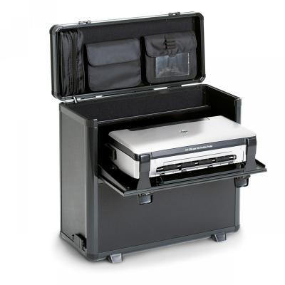 Dicota etui voor mobiele apparatuur: DataBox XL Trolley HP OJ 200 - Zwart