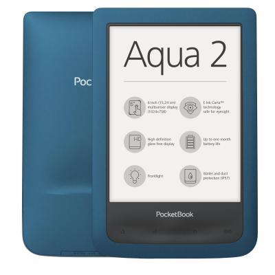 Pocketbook e-book reader: AQUA 2 - Turkoois