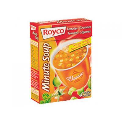 Royco voedingswaar: Minute soup Tomaat groenten/ds 25