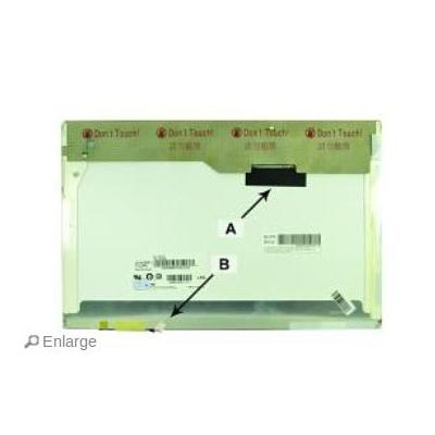 "2-power notebook reserve-onderdeel: 35.814 cm (14.1 "") WXGA+ 1440x900 CCFL1 Matte"