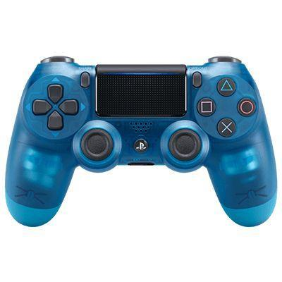 Sony game controller: DualShock 4 - Blauw, Transparant