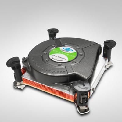 Inter-Tech K-2 Hardware koeling - Zwart,Koper,Zilver
