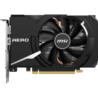 MSI GeForce GTX 1650 SUPER AERO ITX OC Videokaart - Zwart