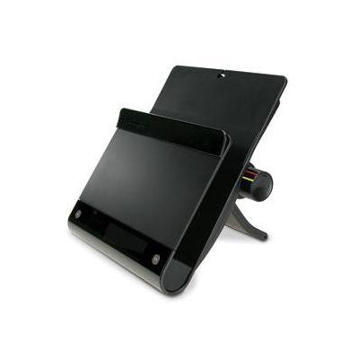 Kensington notebooksteun: Notebook Stand met USB Hub - Zwart