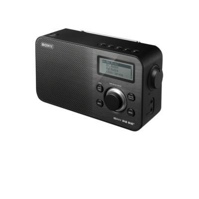 Sony radio: XDR-S60 DAB+/DAB/FM digitale radio - Zwart