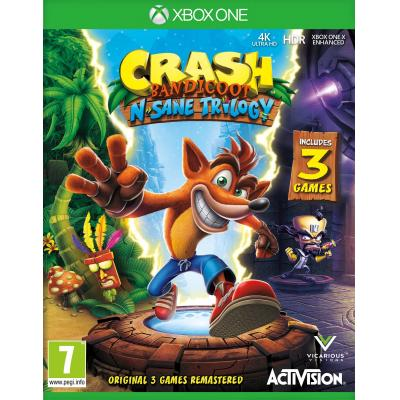 Activision game: Crash Bandicoot N.Sane Trilogy  Xbox One