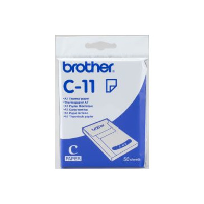 Brother A7 thermisch papier - 74 x 105 mm - 50 vel Thermal papier