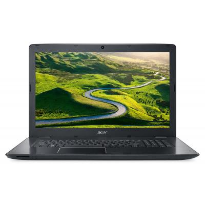 Acer laptop: Aspire E5-774-55QF - Zwart, QWERTY
