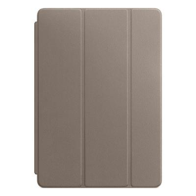 Apple tablet case: Leren Smart Cover voor 10.5'' iPad Pro - Taupe