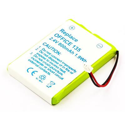CoreParts MBCP0015 - Wit, Geel