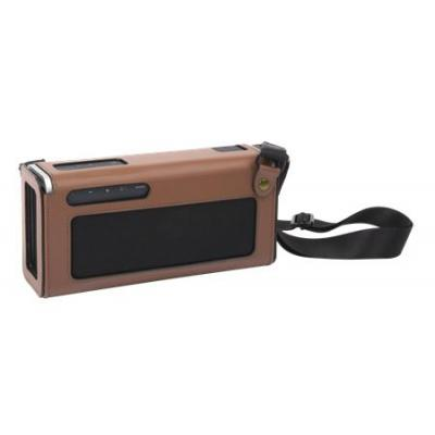 Creative labs audio equipment case: iRoar Go Leatherette Carry Pouch - Bruin
