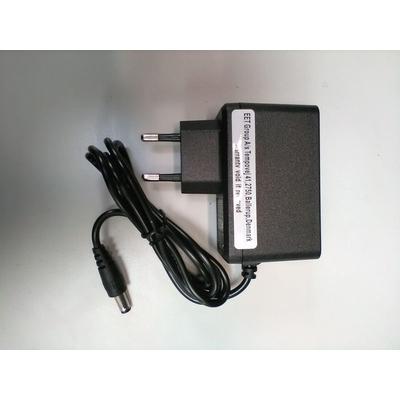 CoreParts Ac Adapter 12V 2A 5.5*2.1mm EU Netvoeding - Zwart