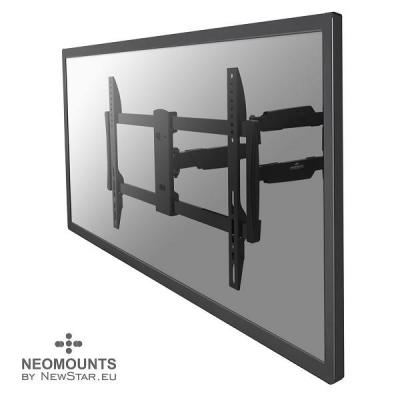 """Newstar montagehaak: De NM-W460BLACK is een wandsteun met 3 draaipunten voor flat screens t/m 60"""" (150 cm) - Zwart"""