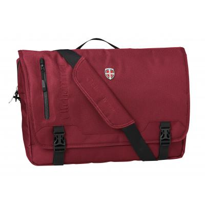 Ellehammer tas: Bergen Business - Messenger Bag - 15.6 inch - Rood