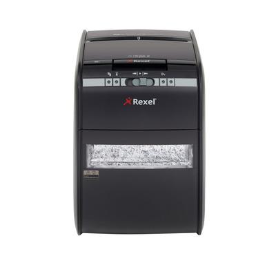Rexel papierversnipperaar: Auto+ 90X - Zwart
