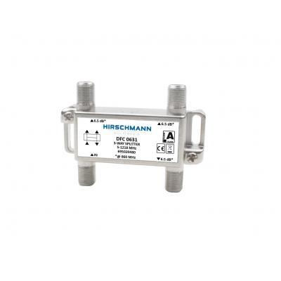 Hirschmann DFC 0631 Kabel splitter of combiner - Metallic