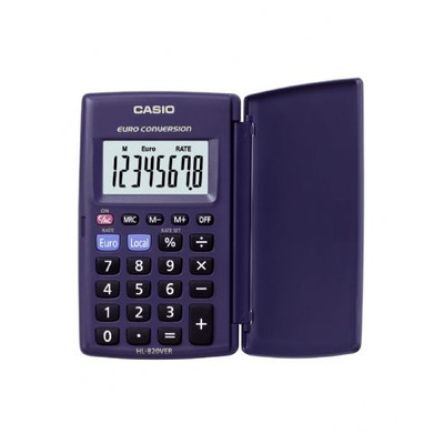 Casio calculator: Pocket Calculator HL - 820VER
