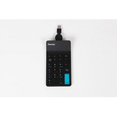 Penclic : Numpad N2 - Zwart
