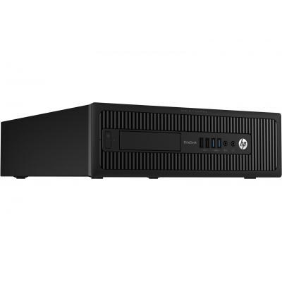 HP EliteDesk 705 G1 Base Model SFF pc - Zwart (Refurbished LG)
